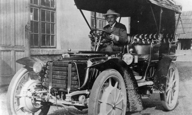 """Ferdinand Porsche, Lohner-Porsche """"Mixte"""", 1903, Porsche AG"""