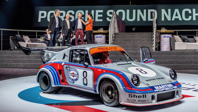 Ги ван Леннеп, Porsche 911 Carrera RSR Turbo 2.1, восьмая ночь звуков Porsche Sound Nacht, Porsche Arena, 2018, Porsche AG