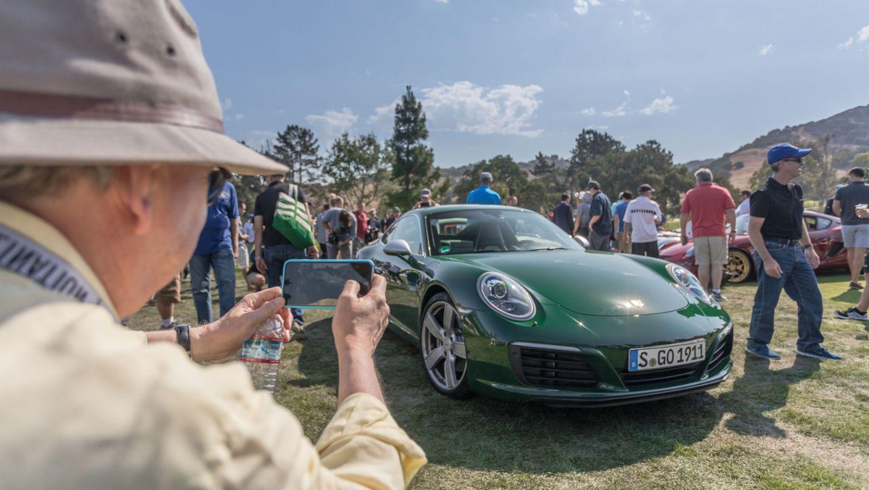 Einmillionster 911, Monterey Historics, Mazda Raceway Laguna Seca, Monterey 2017, Porsche AG