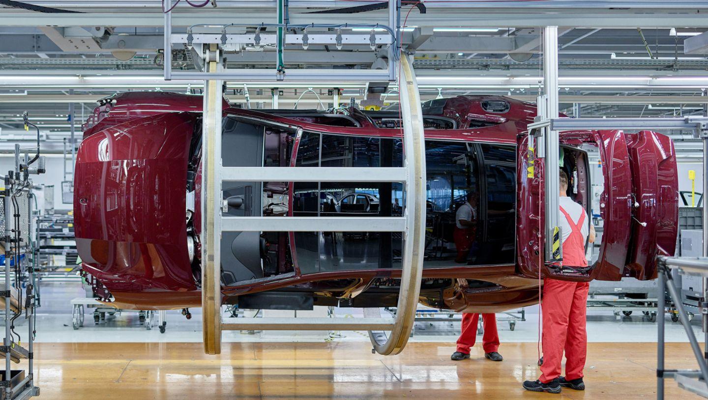 Panamera, production, Leipzig, 2017, Porsche AG