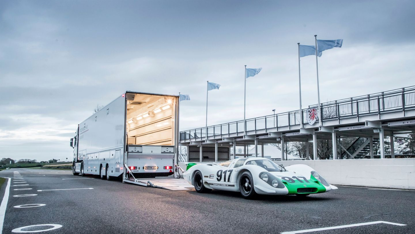 Porsche 917-001, Goodwood Members Meeting, 2019, Porsche AG