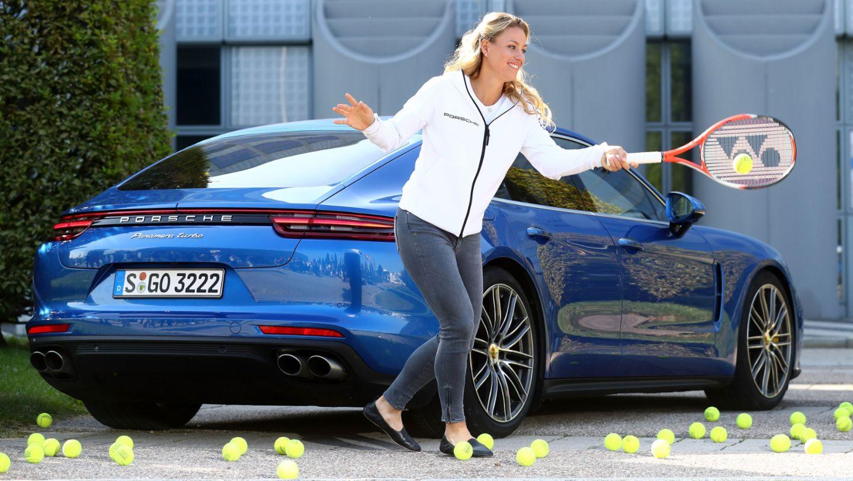Angelique Kerber, Porsche Brand Ambassador, Panamera Turbo, Munich, 2016, Porsche AG