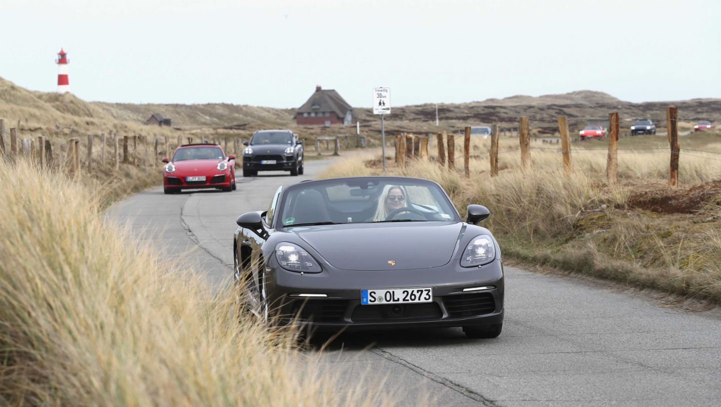 Boxster, Grand Opening of Porsche on Sylt, Sylt, Germany, 2017, Porsche AG