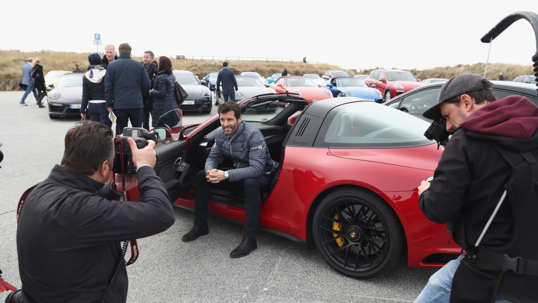 Mark Webber, 911 Targa 4 GTS, Grand Opening of Porsche on Sylt, Sylt, Germany, 2017, Porsche AG