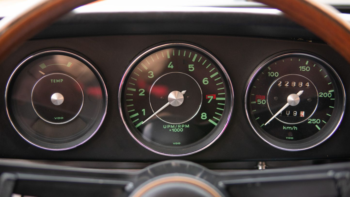 911 2.0 (original 911), rev counter, Porsche AG
