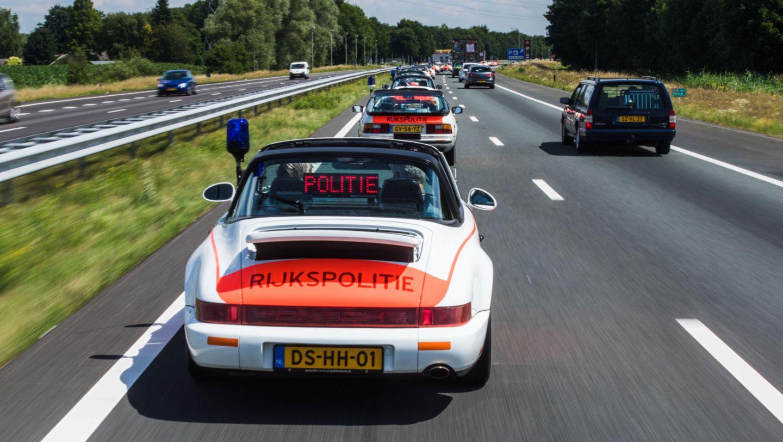 911 Targa, Rijkspolitie, Polizei, Niederlande, 2017, Porsche AG