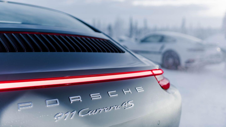 911 Carrera 4S, Porsche Driving Experience Winter, Levi, Finnland, 2016, Porsche AG