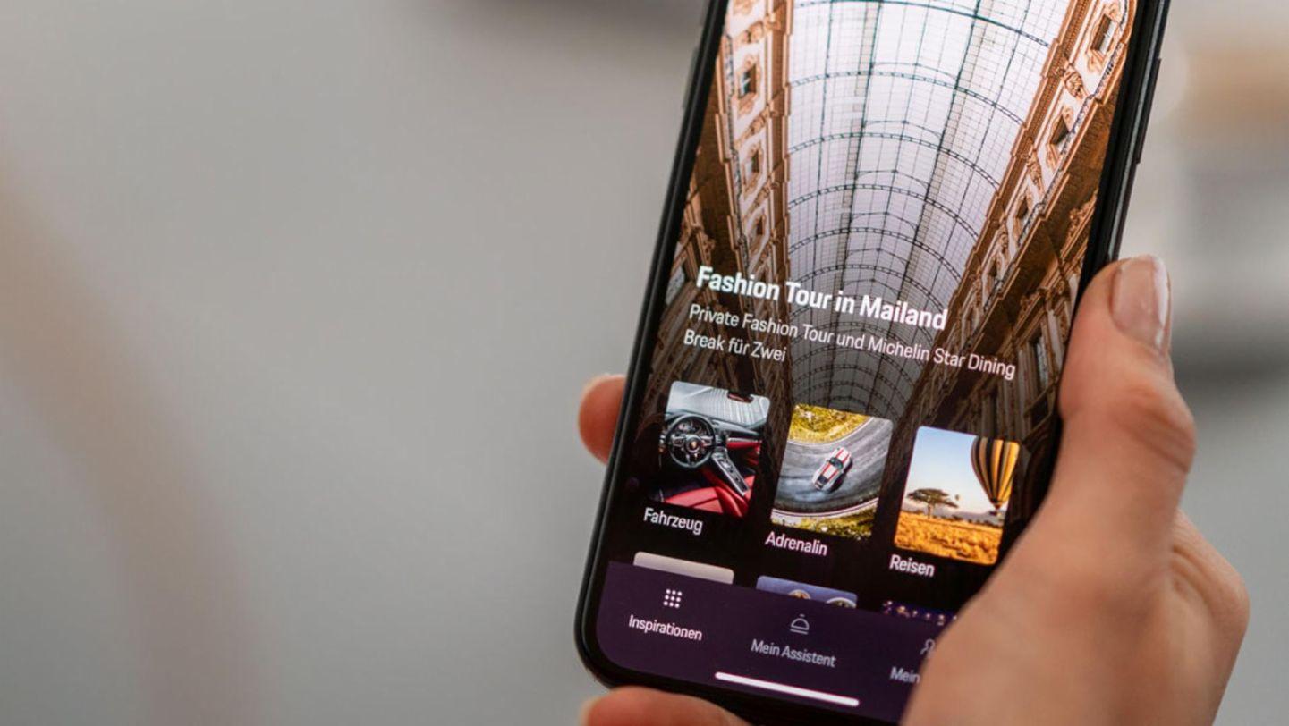 The Porsche 360+ lifestyle assistant, 2019, Porsche AG