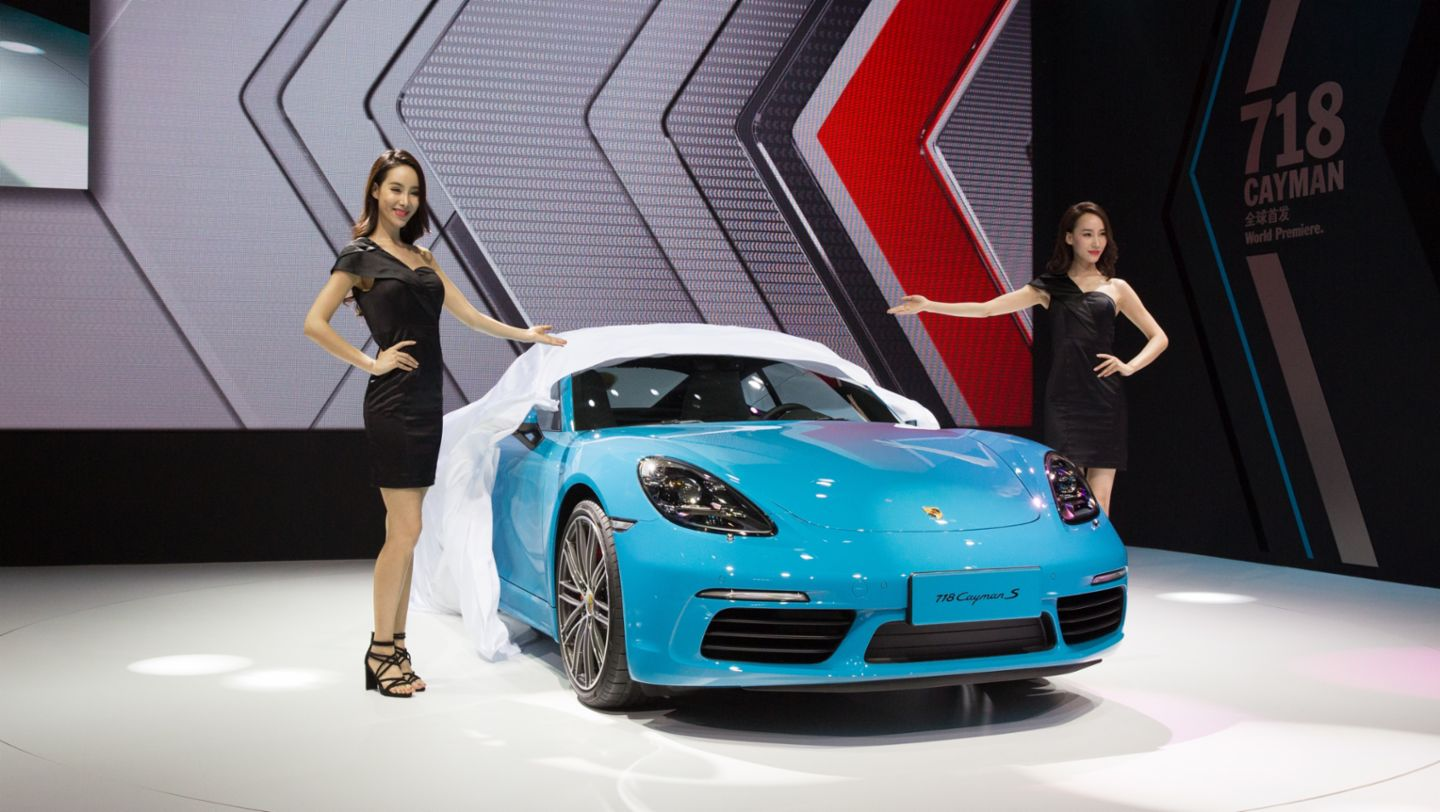 718 Cayman S, Auto China, 14th Beijing International Automobile Exhibition, 2016, Porsche AG