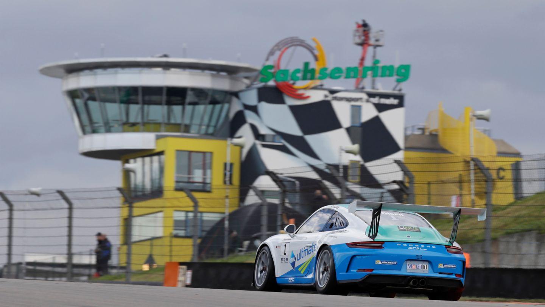 911 GT3 Cup, Sachsenring, 2017, Porsche AG