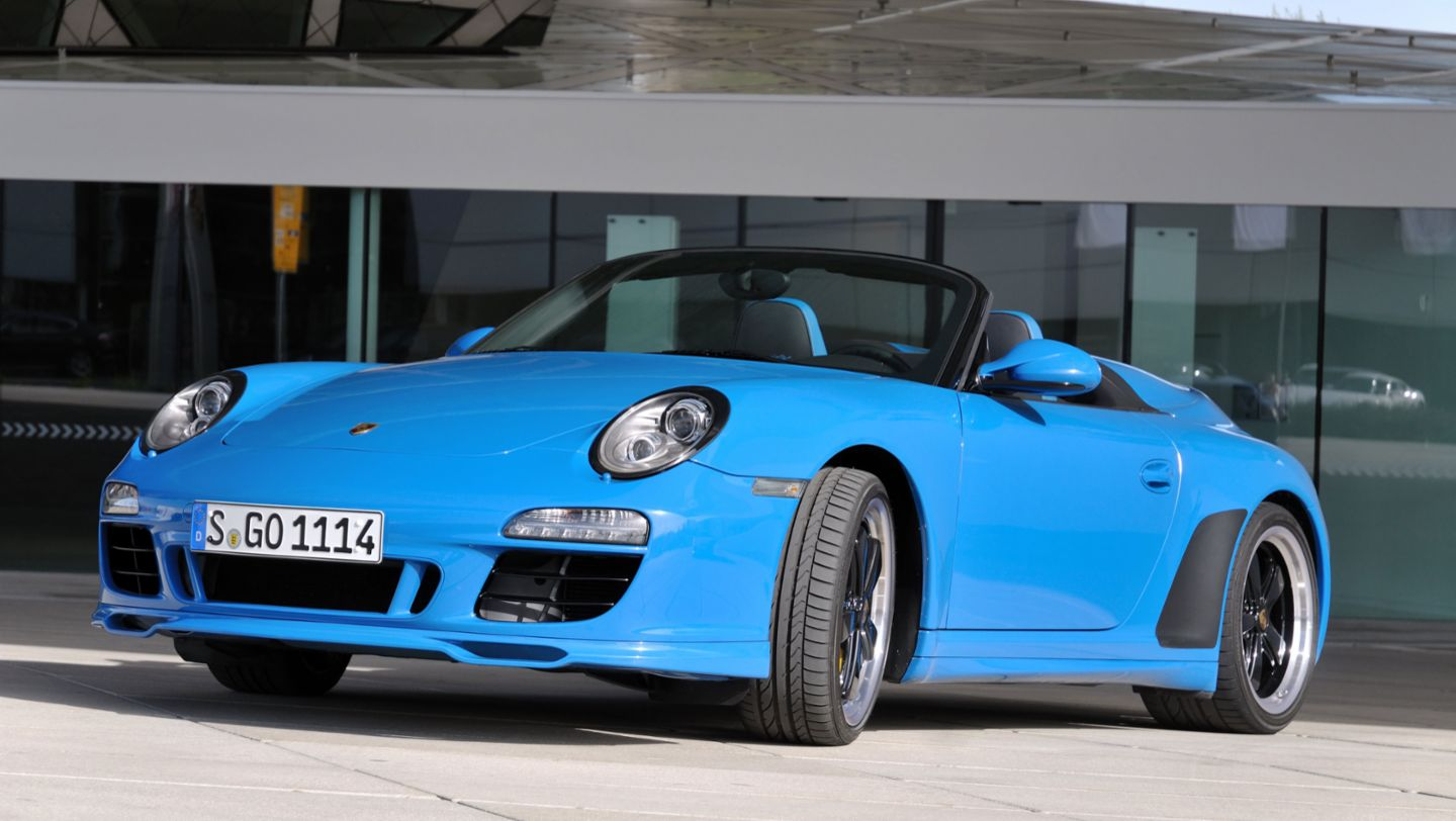 911 Speedster, model year 2011, Porsche AG