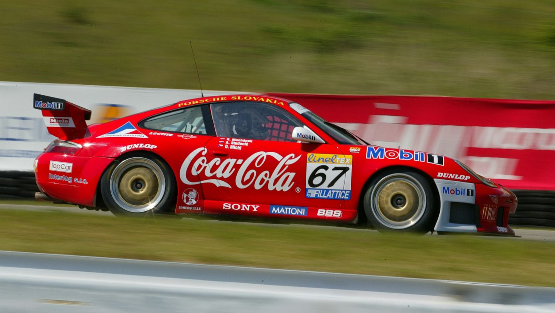 911 GT3 RS (996) No. 67: Andrej Studenic and Rudolf Machánek, FIA GT Championship Brno, 2002, Porsche AG