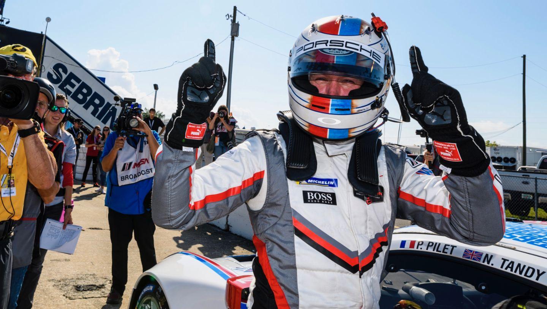 Patrick Pilet, Porsche GT Team, qualifying, round two, IMSA, Sebring, 2019, Porsche AG