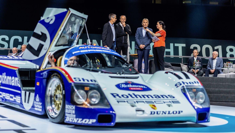 Porsche 962 C, восьмая ночь звуков Porsche Sound Nacht, Porsche Arena, 2018, Porsche AG
