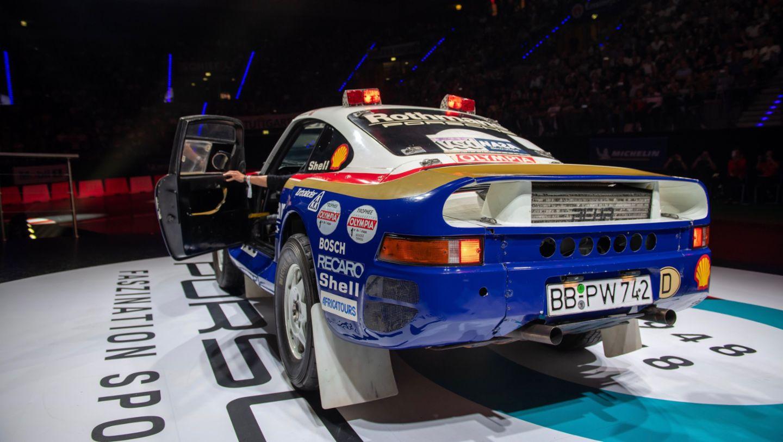 Porsche 959 Paris Dakar, восьмая ночь звуков Porsche Sound Nacht, Porsche Arena, 2018, Porsche AG