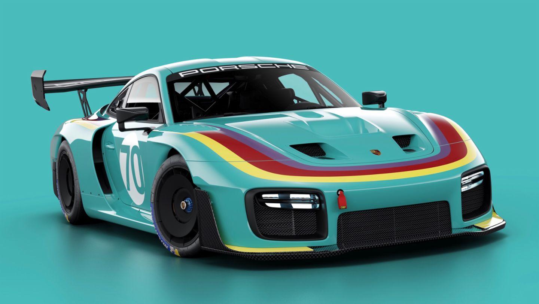 Porsche 935, livery VAILLANT, 2019, Porsche AG