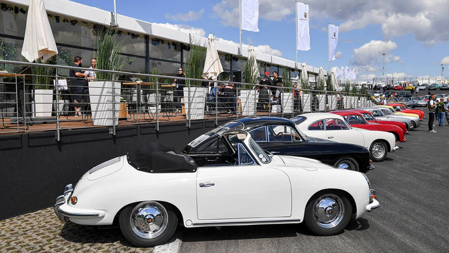 70 Years Of The Porsche Sports Car At The Avd Oldtimer Grand Prix