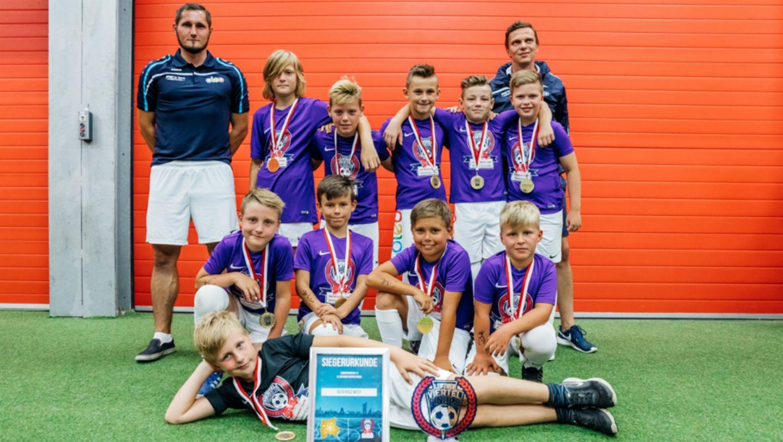 Oleo Kidz West, Sieger-Team U11, Leipziger Viertelfinale 2017, 2017, Porsche AG