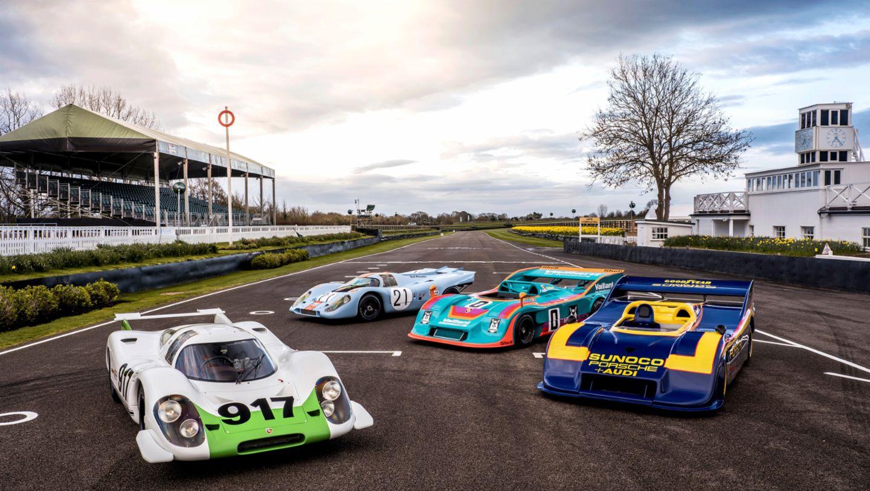 Porsche 917, встреча гоночного клуба в Гудвуде, 2019, Porsche AG