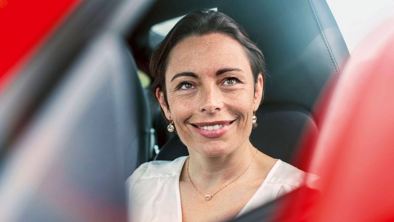 Vanina Ickx, race-car driver, 2016, Porsche AG