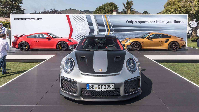 911 GT2 RS, Mazda Raceway Laguna Seca, Monterey 2017, Porsche AG