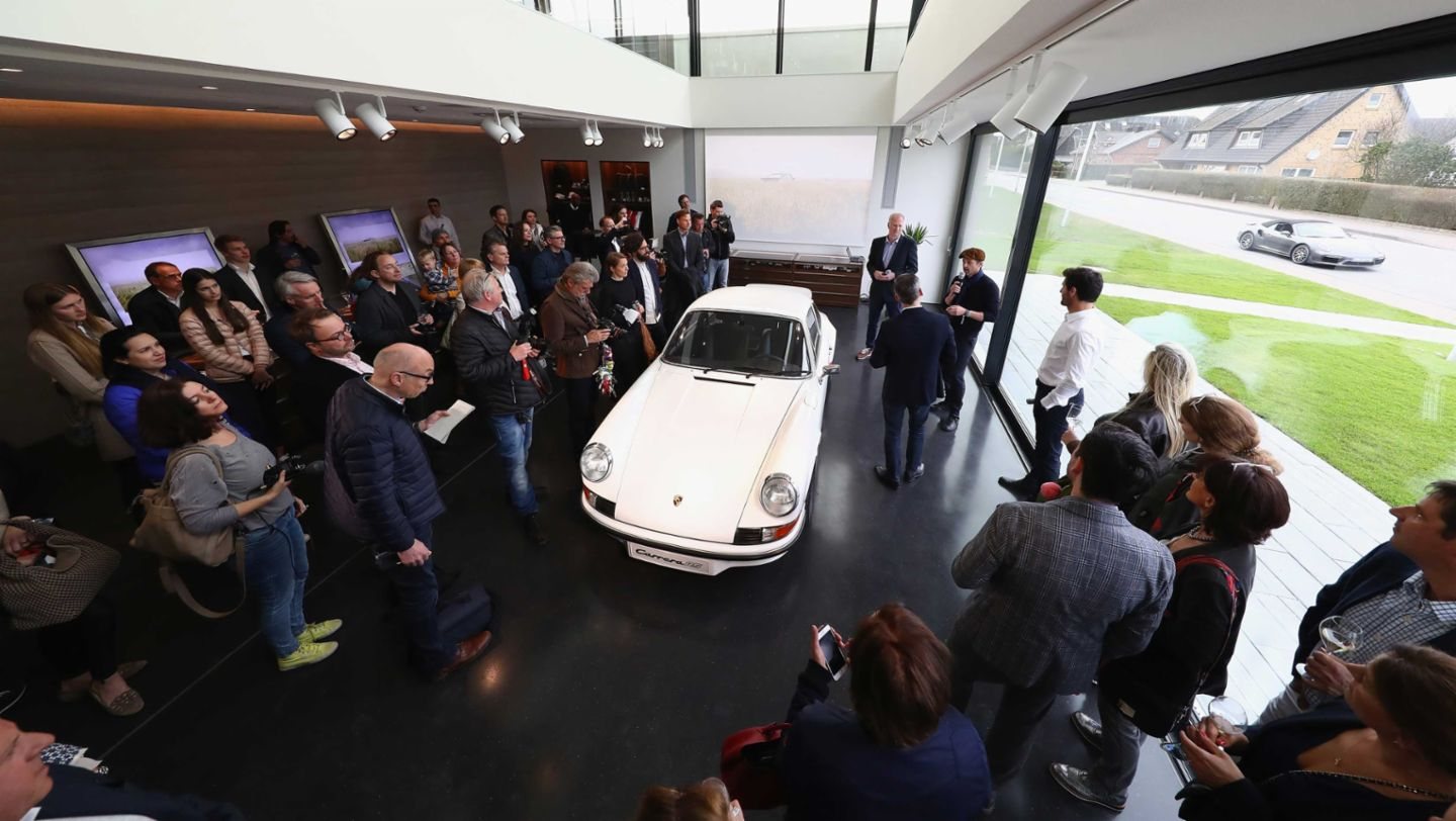 Carrera RS, Grand Opening of Porsche on Sylt, Sylt, Germany, 2017, Porsche AG