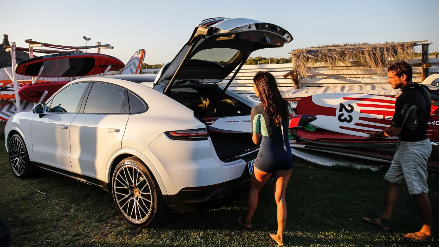 Cayenne, Water sports initiative Porsche On Board, Italia, 2019, Porsche AG