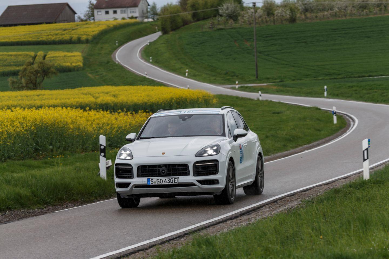 Cayenne E-Hybrid, i-Mobility Rallye, Stuttgart, 2019, Porsche AG