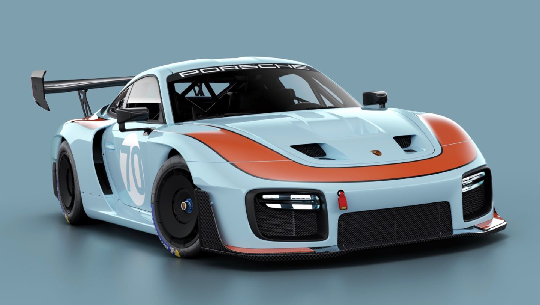 Porsche 935, livery GULF, 2019, Porsche AG
