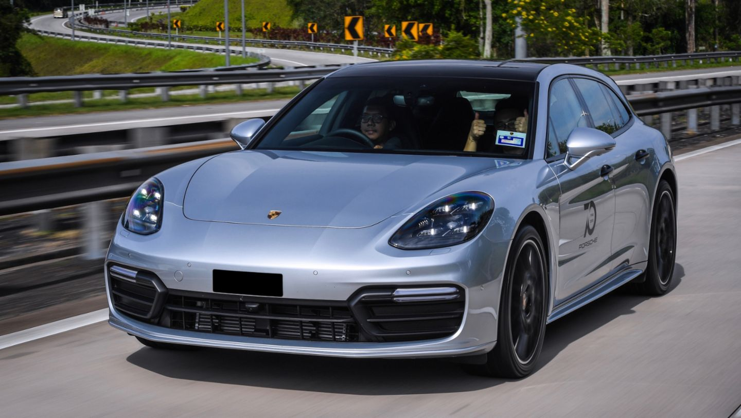 Panamera 4 Sport Turismo, Road to Sportscar Together Day, Singapur nach Penang, 2018, Porsche AG