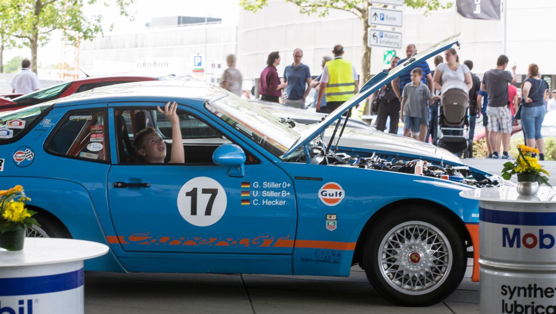"""""""Transaxle Day"""", Porsche Museum, 2016, Porsche AG"""