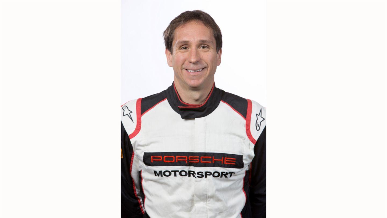 Wolf Henzler, works driver, 2017, Porsche AG