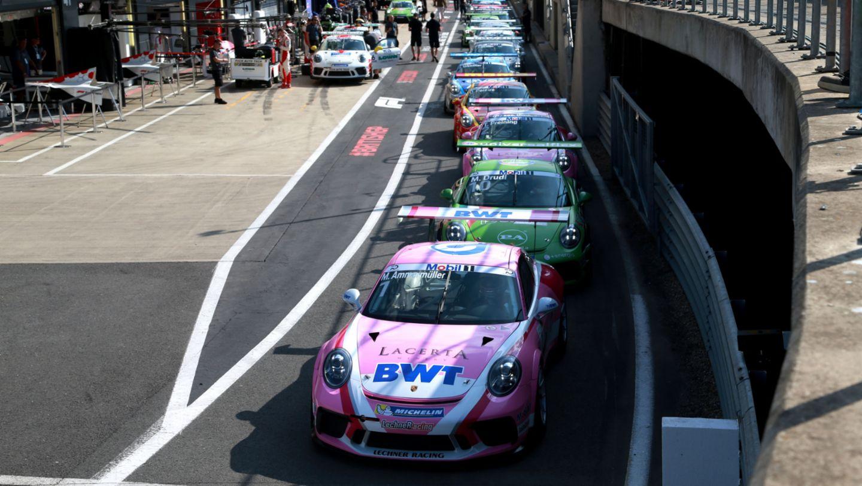 911 GT3 Cup, Porsche Mobil 1 Supercup, Silverstone, Qualifying, 2018, Porsche AG