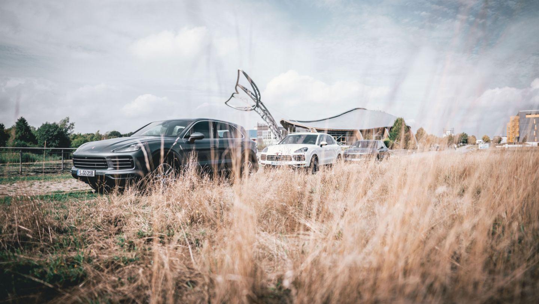 Cayenne S, #PorscheCrossdrive, Hannover Expo, 2018, Porsche AG