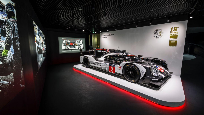 919 Hybrid, Porsche Pavillion, Wolfsburg, 2016, Porsche AG
