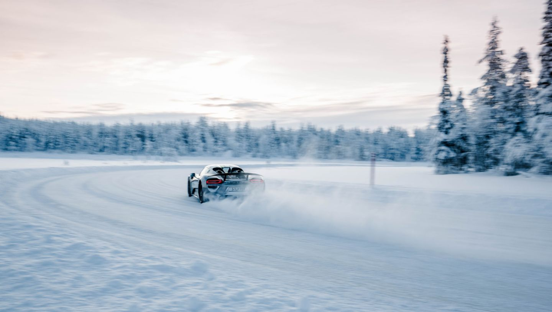 918 Spyder, Porsche Driving Experience Winter, Levi, Finnland, 2016, Porsche AG