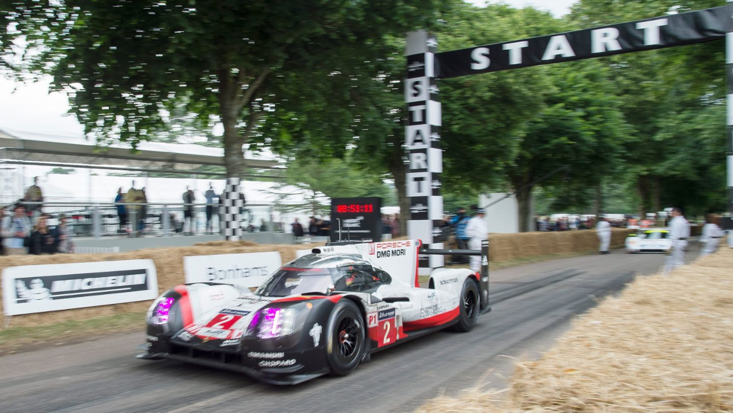 919 Hybrid, Festival of Speed, Goodwood, Great Britain, 2017, Porsche AG