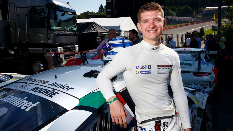 Mathieu Jaminet, Young Professional, 2016, Porsche AG