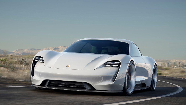 Концепт-кар Mission E, 2015, Porsche AG