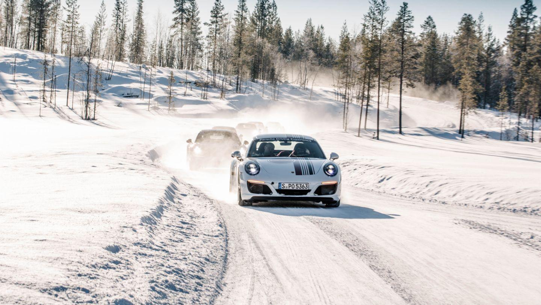 Porsche Driving Experience Levi, Finland, 2017, Porsche AG