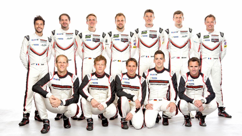 Werksfahrer, 2017, Porsche AG