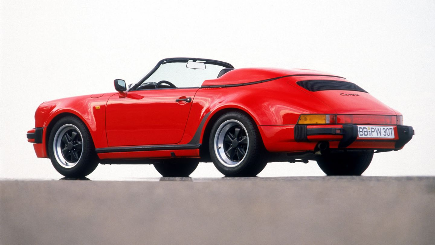 911 Carrera 3,2 Speedster, model year 1986, Porsche AG