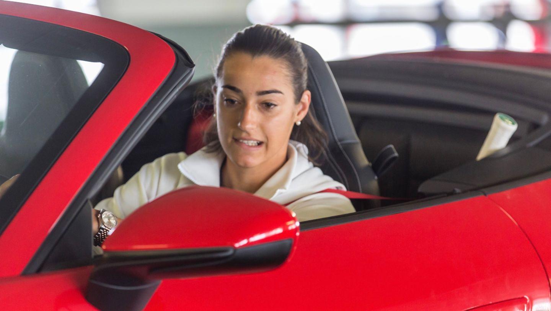 911 Carrera 4S Cabriolet, Caroline Garcia, Porsche Tennis Grand Prix, Parking Challenge, 2019, Porsche AG