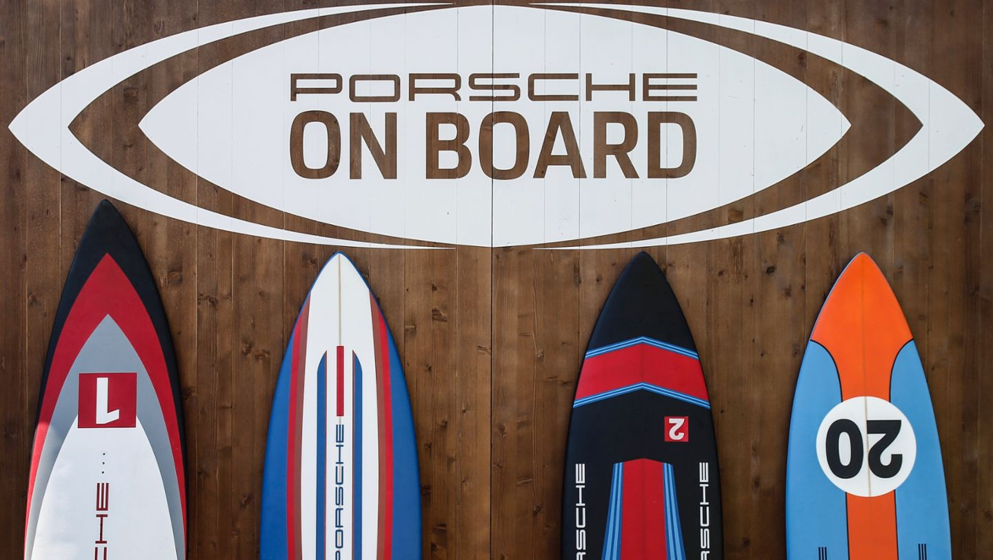 Water sports initiative Porsche On Board, Italia, 2019, Porsche AG