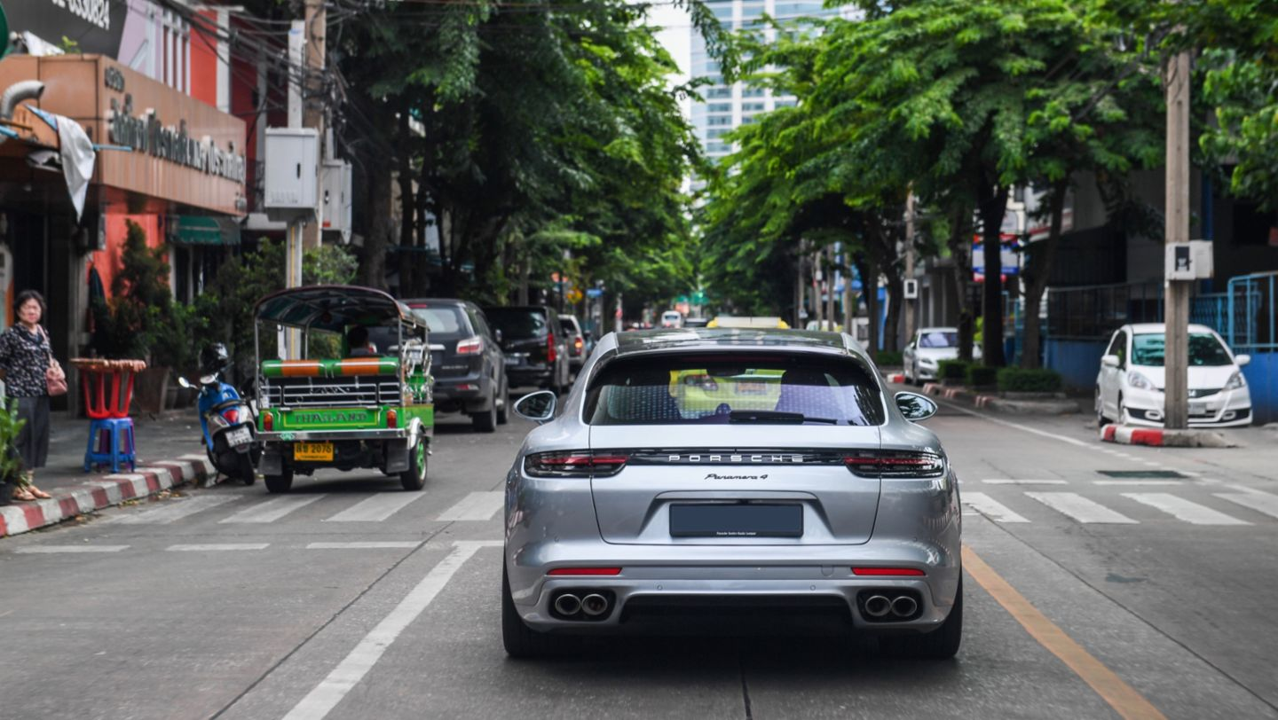 Panamera 4 Sport Turismo, Road to Sportscar Together Day, Bangkok nach Bangsaen, 2018, Porsche AG