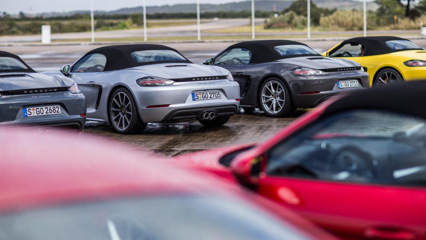 718 Boxster, 718 Boxster S, international press launch, Lisbon, 2016, Porsche AG