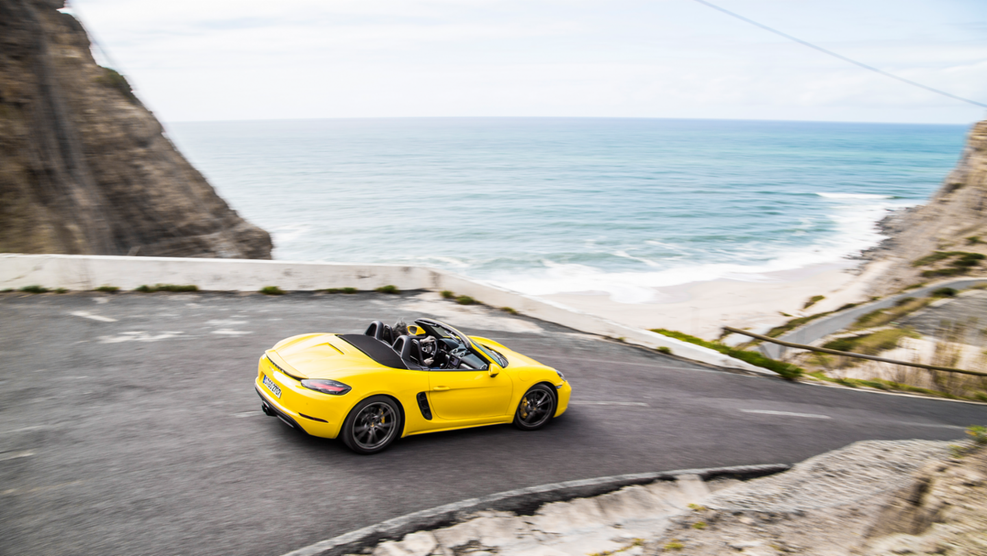 718 Boxster S, international press launch, Lisbon, 2016, Porsche AG