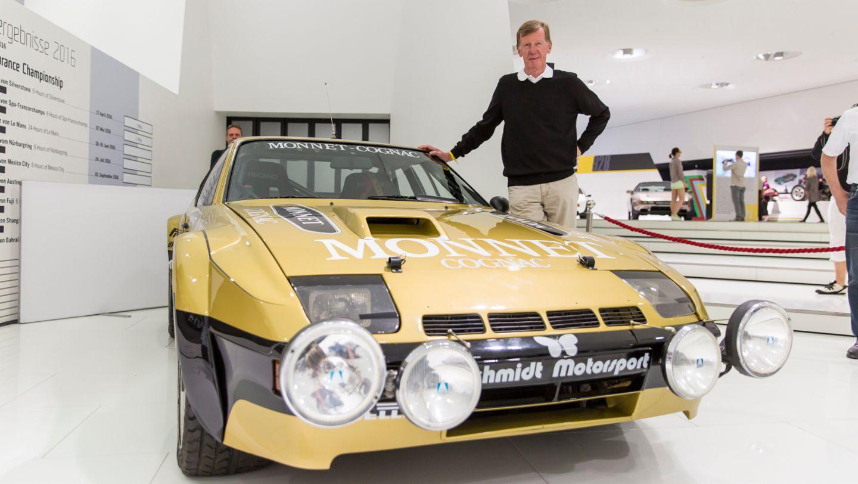 "Walter Röhrl, ""Transaxle Day"", Porsche Museum, 2016, Porsche AG"
