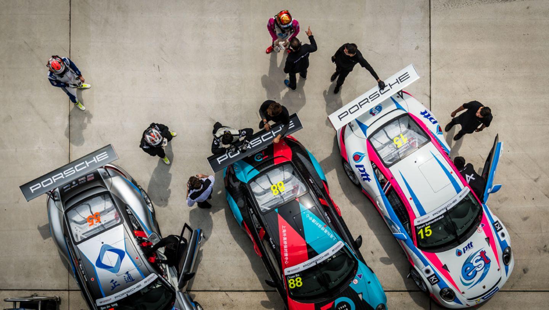 27位车手试驾新款保时捷 911 GT3 Cup (Type 991 II)