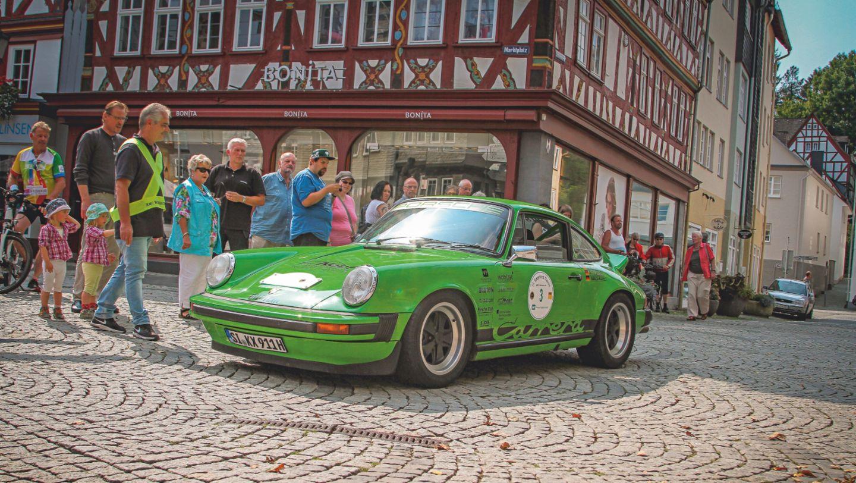 911 (Baujahr 1978), Oldtymer-Rallye, 2018, Porsche AG